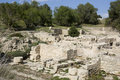 Minoan ruins of Kommos - Crete Stock Photos