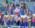 Minor league baseball dance team Royalty Free Stock Photography