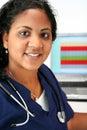 Minority Nurse Royalty Free Stock Photo