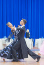 MINSK-BELARUS, OCTOBER 9:Adult Dance Couple Stock Image