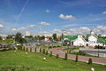 Minsk belarus panorama of city Stock Images