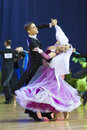 MINSK, OCTOBER, 21:Amazing Dance couple Stock Photo