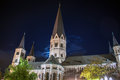 Minster church in bonn germany Royalty Free Stock Images