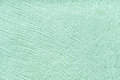 Mint background from soft textile material. Fabric with natural texture. Royalty Free Stock Photo
