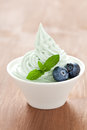 Mint ice cream Stock Photos