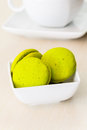 Mint marron cookies Stock Images