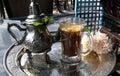 Mint tea. Royalty Free Stock Image