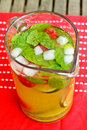 Mint tea Stock Image