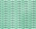 Mint wicker rattan texture background Royalty Free Stock Photos