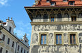 The Minute House, Prague sights Royalty Free Stock Photo