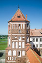 Mir castle famous fortifcation in belarus eastern europe Stock Photo