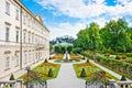 Jardín palacio en