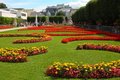 Mirabell gardens in salzburg Royalty Free Stock Photo