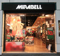 Mirabell shop in hong kong located tsim sha tsui is a shoes retailer Royalty Free Stock Photos
