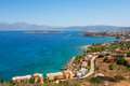 Mirabello bay. Crete, Greece Royalty Free Stock Photo