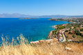 Mirabello bay crete greece near agios nikolaos Royalty Free Stock Photography
