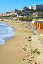 Miracle Beach in Tarragona, Spain Royalty Free Stock Photography