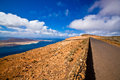 Mirador del Rio and La Graciosa. Royalty Free Stock Photo