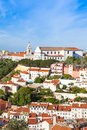 Miradouro da graca from sao jorge castle in lisbon portugal Stock Photography