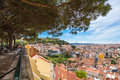 Miradouro da graca viewpoint in lisbon portugal Stock Photography