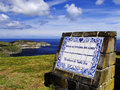 Miradouro de santa iria sao miguel azores beautiful view of the ilha do Stock Photos