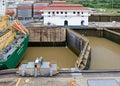 Miraflores Locks Royalty Free Stock Photo