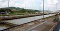Miraflores locks the is one of three that form part of the panama canal the panama canal was built in and celebrates its th Stock Photos