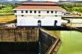 Miraflores Locks, Panama Canal Royalty Free Stock Photo