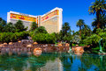 The mirage casino in las vegas Royalty Free Stock Photos