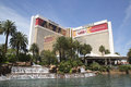 The Mirage Casino on the Las Vegas Strip in Las Vegas Royalty Free Stock Photo