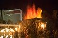 The Mirage Hotel artificial Volcano Eruption show in Las Vegas