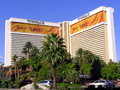 The mirage hotel and casino in las vegas nevada is resort located on strip paradise united states Stock Images