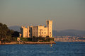Miramare castle, Trieste Royalty Free Stock Photography