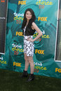 Miranda cosgrove arriving at the teen choice awards at gibson ampitheater at universal studios los angeles ca on august Stock Image