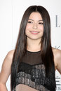 Miranda cosgrove arriving at the th annual women in hollywood tribute sponsored by elle beverly hilton hotel los angeles ca Stock Images