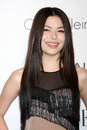 Miranda cosgrove arriving at the th annual women in hollywood tribute sponsored by elle beverly hilton hotel los angeles ca Royalty Free Stock Image