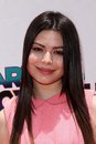 Miranda cosgrove at the iparty with victorious premiere event the lot hollywood ca Royalty Free Stock Photos