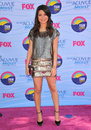 Miranda cosgrove at the teen choice awards at the gibson amphitheatre universal city july los angeles ca picture paul smith Royalty Free Stock Photo