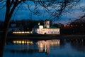 Mirozhsky monastery in Pskov, Russia Royalty Free Stock Photo