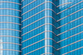 Mirror glass building Royalty Free Stock Photos