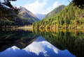 Mirror lake Royalty Free Stock Photo