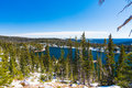 Mirror Lake in Medicine Bow National Forest, Wyoming Royalty Free Stock Photo