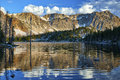 Mirror Lake, Snowy Range, Wyoming Royalty Free Stock Photo