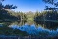 Mirror, mirror, ... Lake in Yosemite Royalty Free Stock Photo