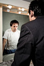 The mirror that reveals the inside Royalty Free Stock Photo