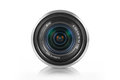 Mirrorless camera lens Royalty Free Stock Photo