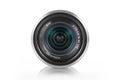 Mirrorless camera lens Royalty Free Stock Photo