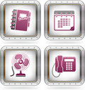 Misc Internet Icons Royalty Free Stock Images