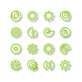 Miscellaneous icons set a vector Royalty Free Stock Images