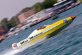 Miss Madison Off-Shore Racing Boat Royalty Free Stock Images